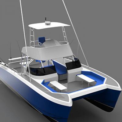 AB32 Sport Fish Catamaran