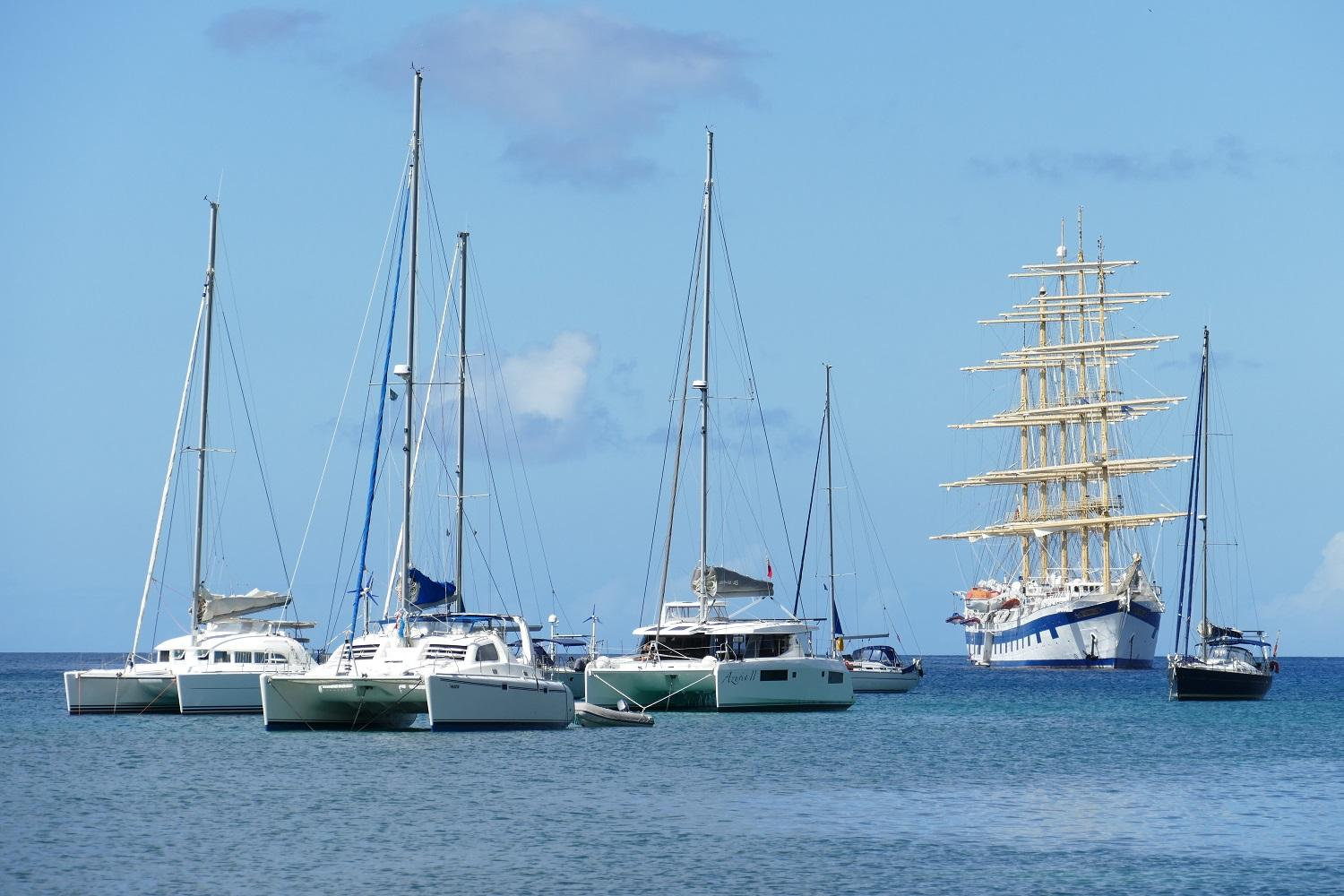 Anchorage in st lucia