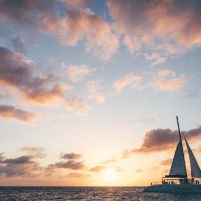 Coucher de soleil - Aruba Caraïbes