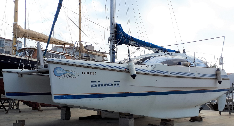 Beneteau blue 2