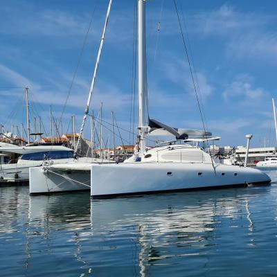 Catamaran Brazapi design par Erik Lerouge