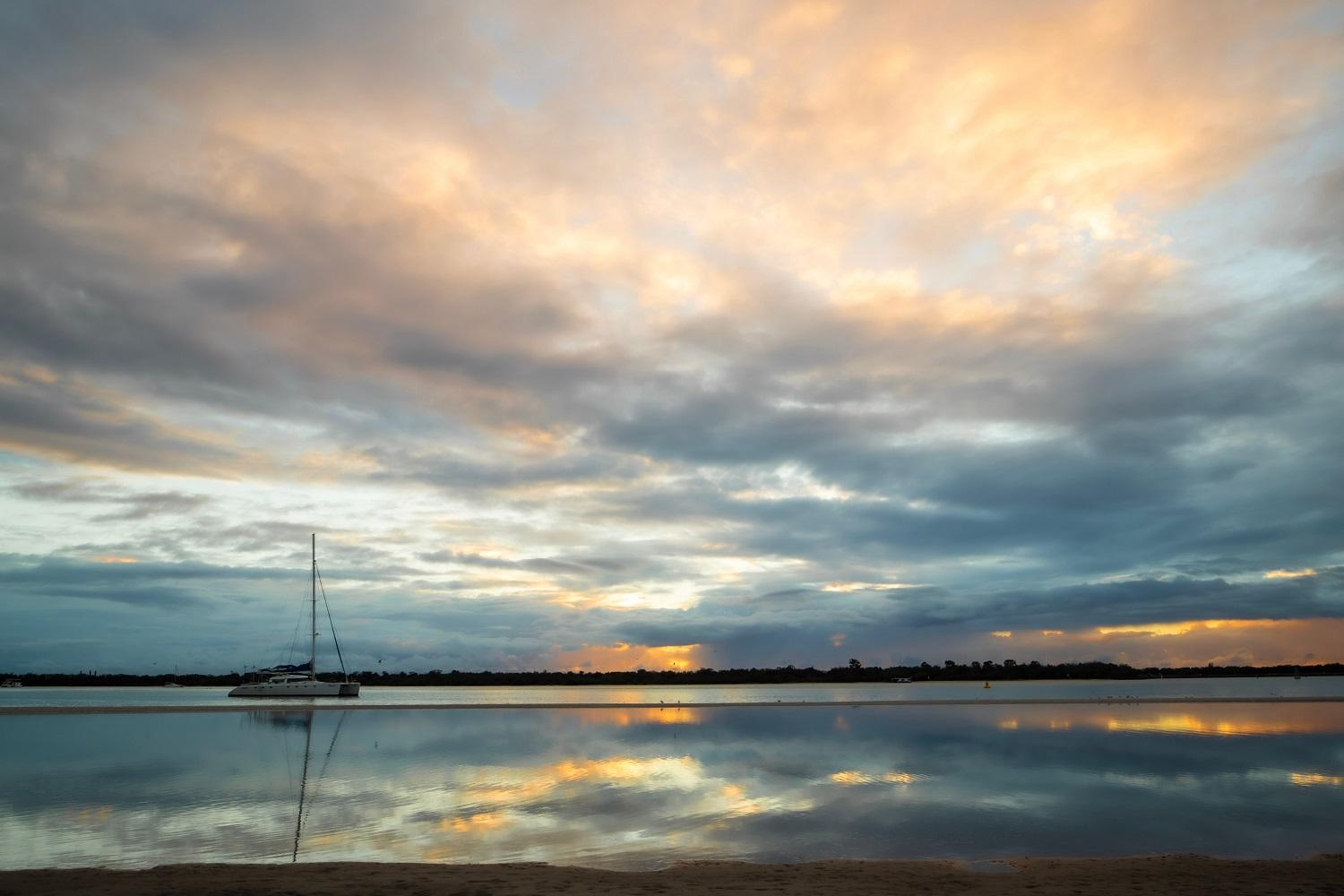 Broadwater sunrise