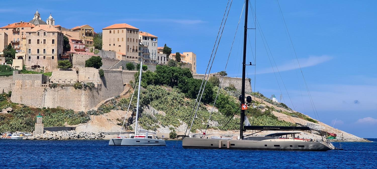 Calvi and its medieval city