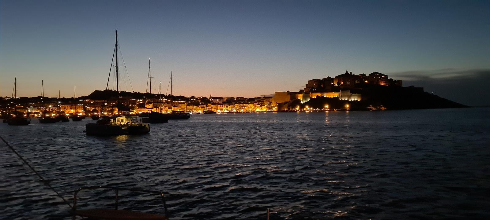 Calvi by night