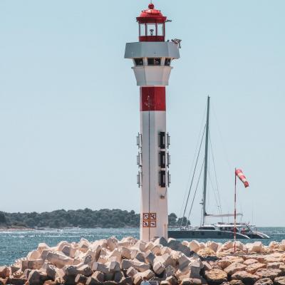 Cannes lighthouse france