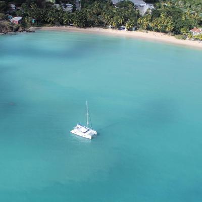 Aerial drone picture Barbados - Caribbean
