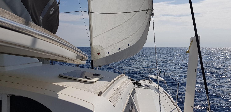 Catana 42 under sails