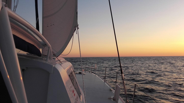 Catana 47 under sails