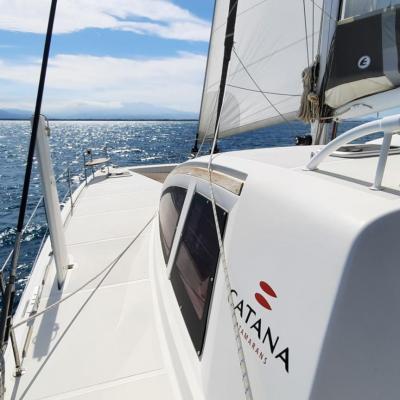 Essai en mer Catana 50