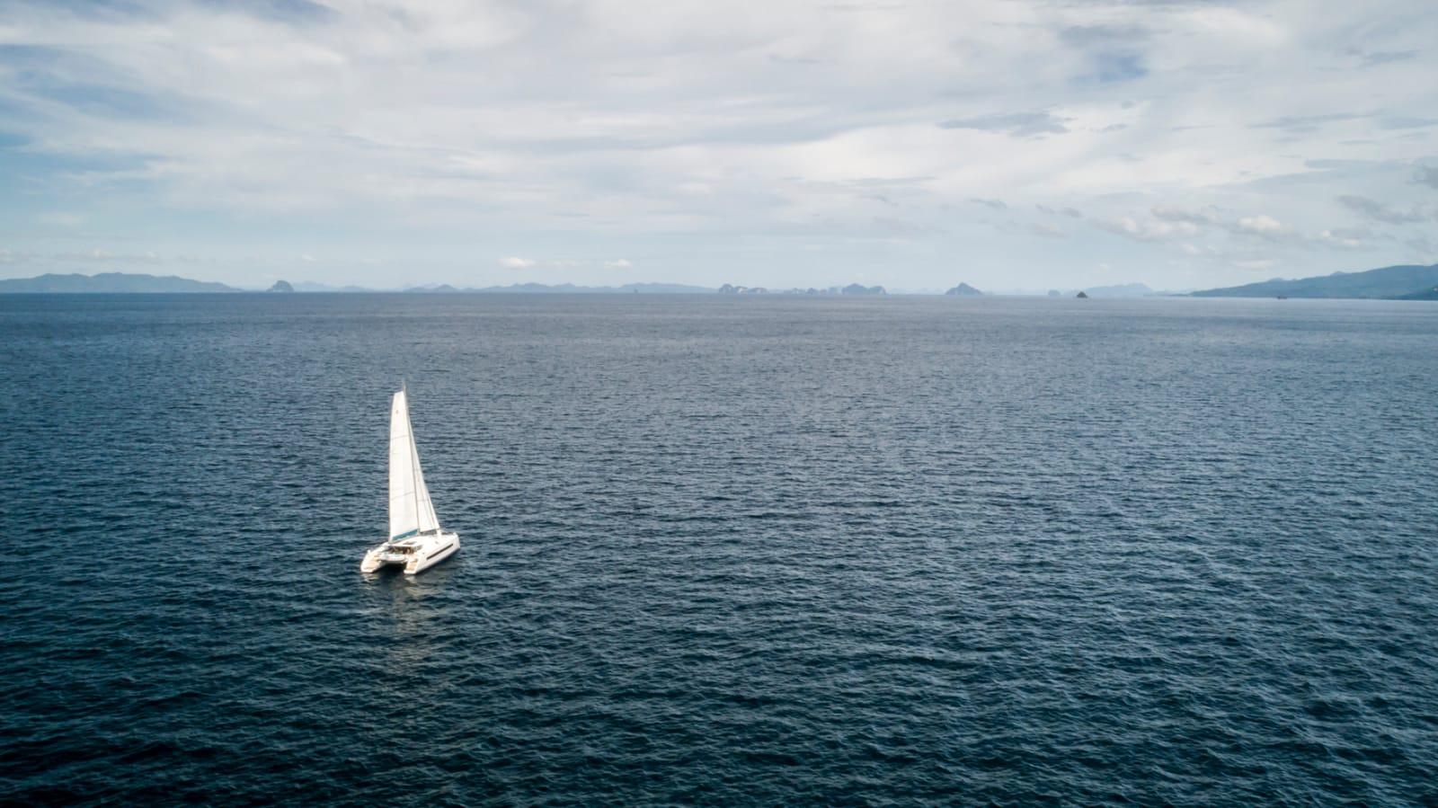 Catana 53 sailing in thailand
