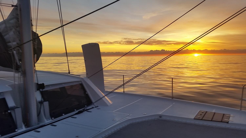 Catana 53 sunset