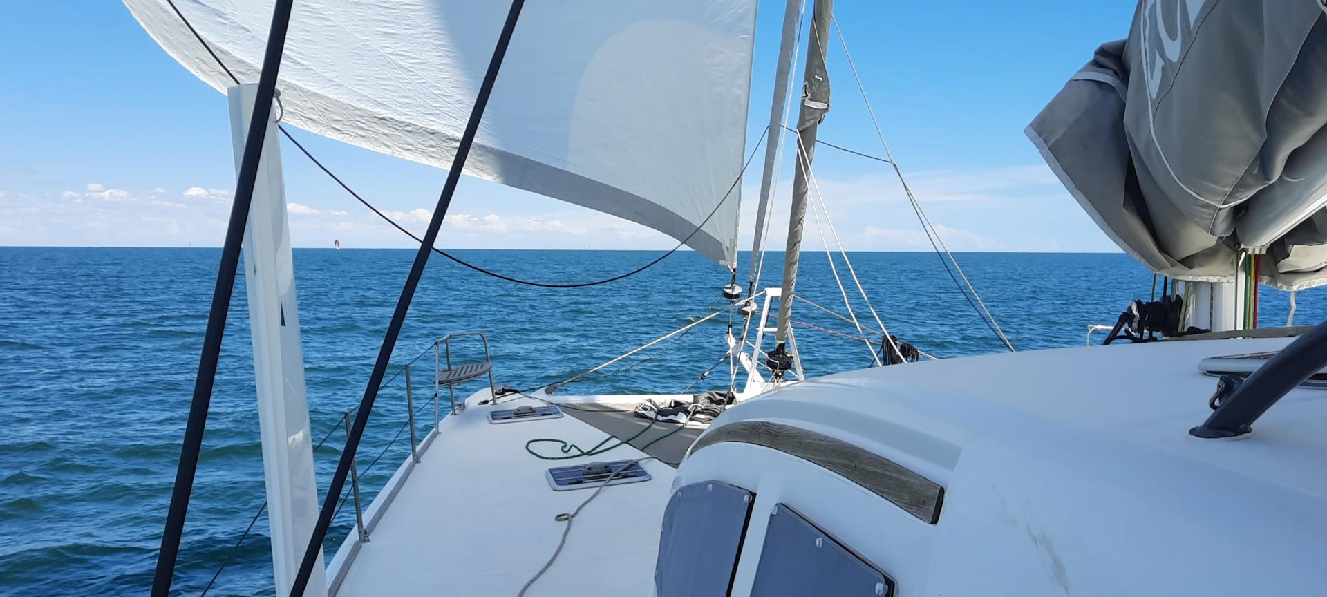 Catana 55 under sails 1