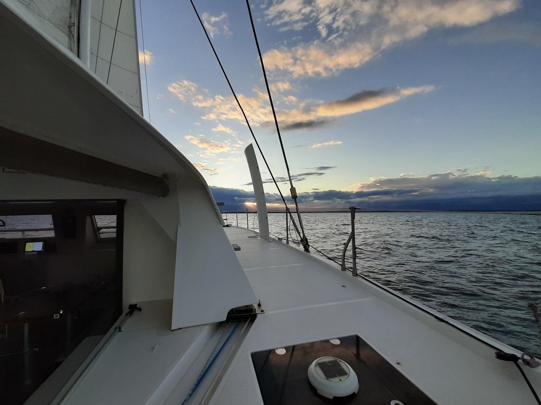 Catana 59 under sails