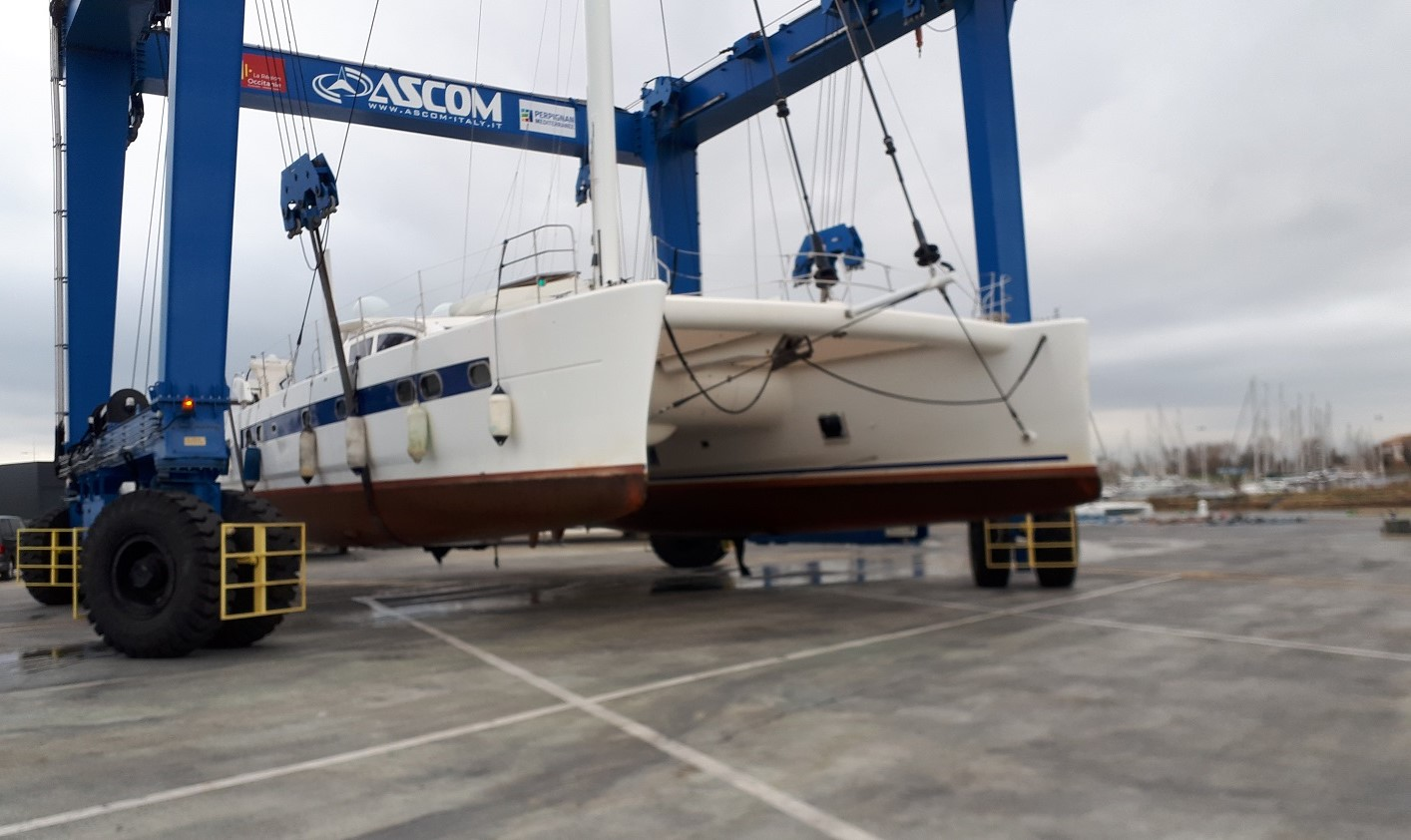 Catana 65 haul out