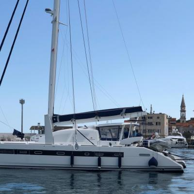 Catana 65 at port of Bar - Montenegro