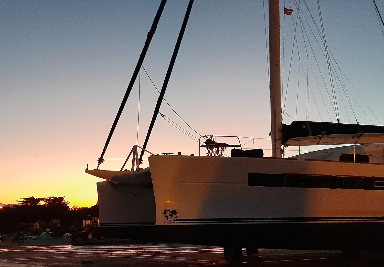 Catana 65 sunset