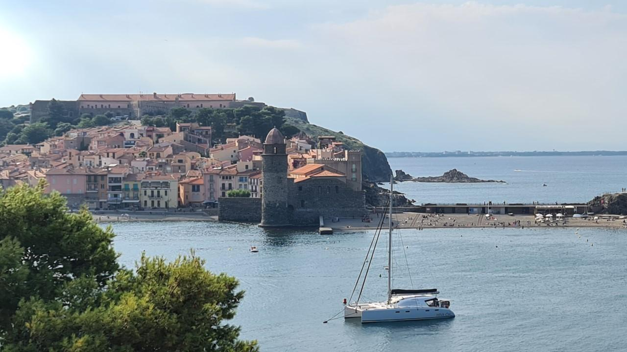 Collioure anchorage