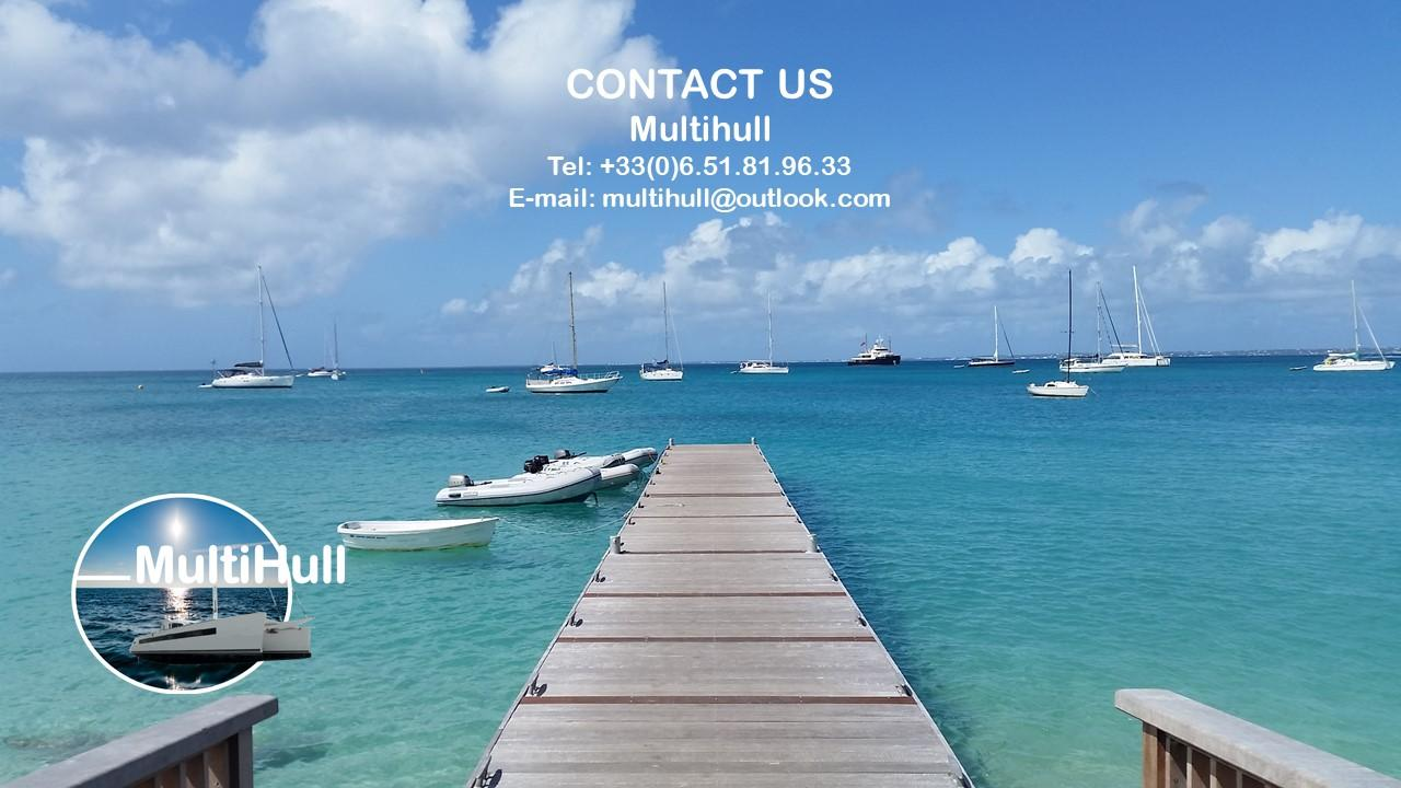 Contact multihull