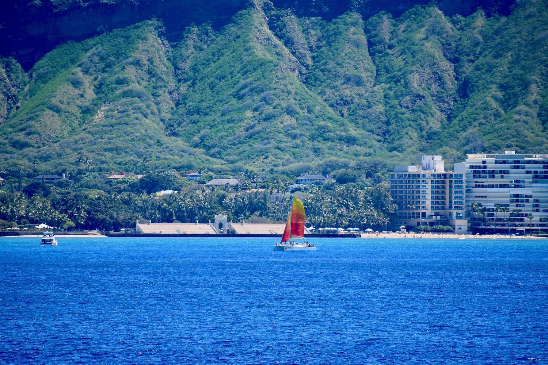 Hawaii honolu diamond head