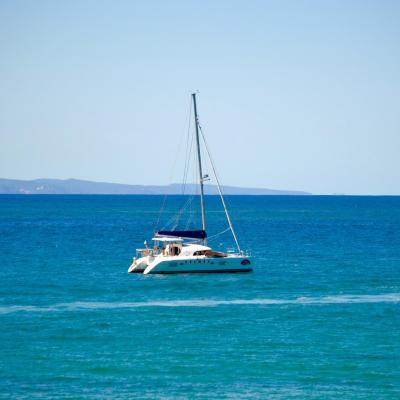 Lagoon 380 noosa heads queensland australien