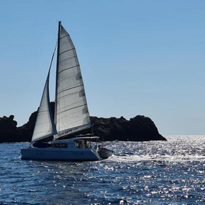 Lagoon 421 west corsica