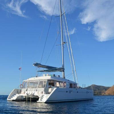 Lagoon 560 - un catamaran très confortable