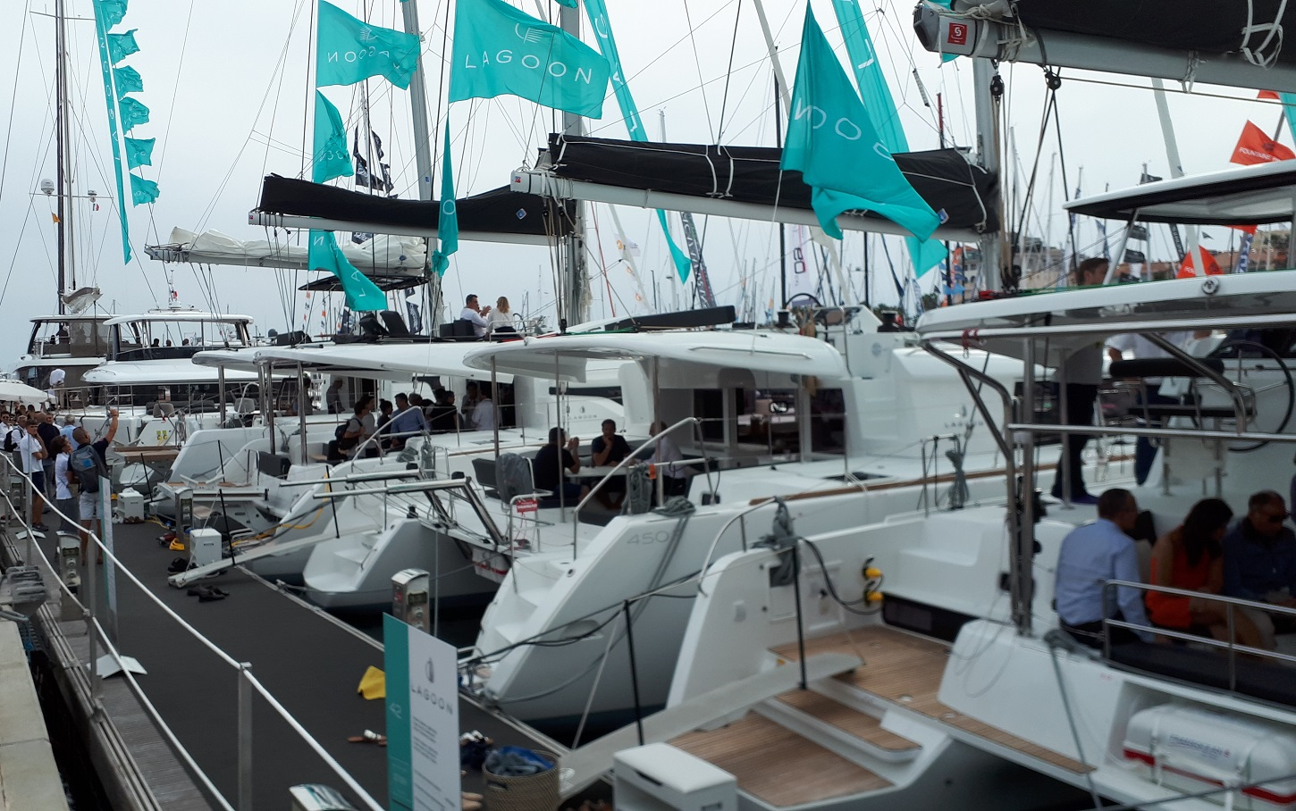 Lagoon cannes yachting festival