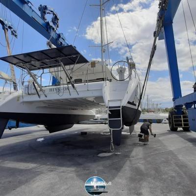 Launching nautitech 47 hiva oa 3