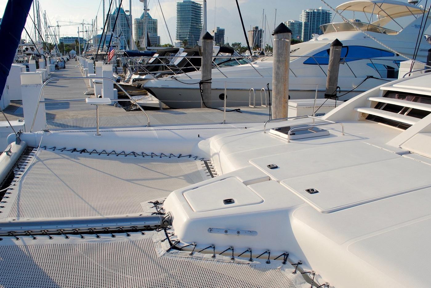 Leopard catamarans dinner key marina