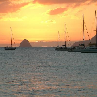 Diamond Rock in Martinique