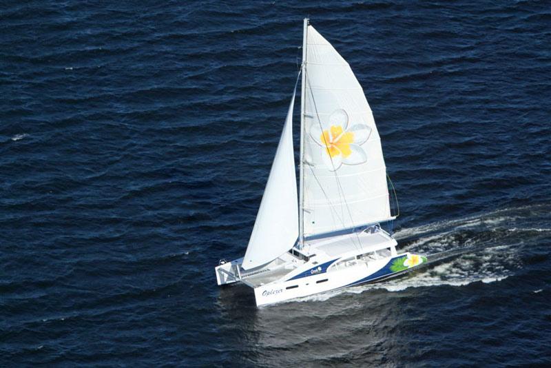Mirage 760 day sailor 30