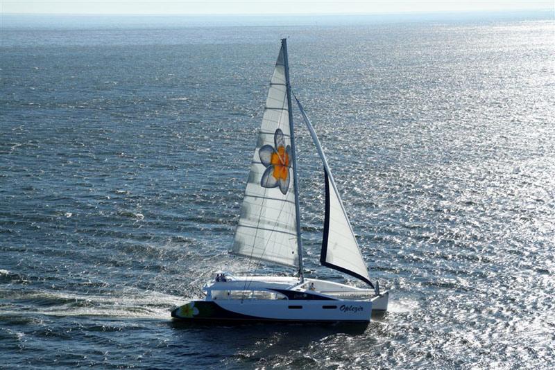 Mirage 760 day sailor 35