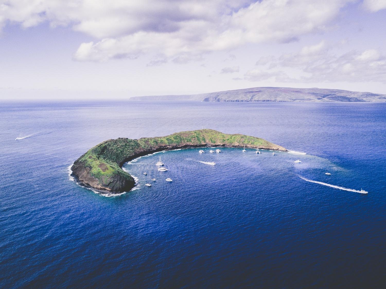 Molokini crater maui united states