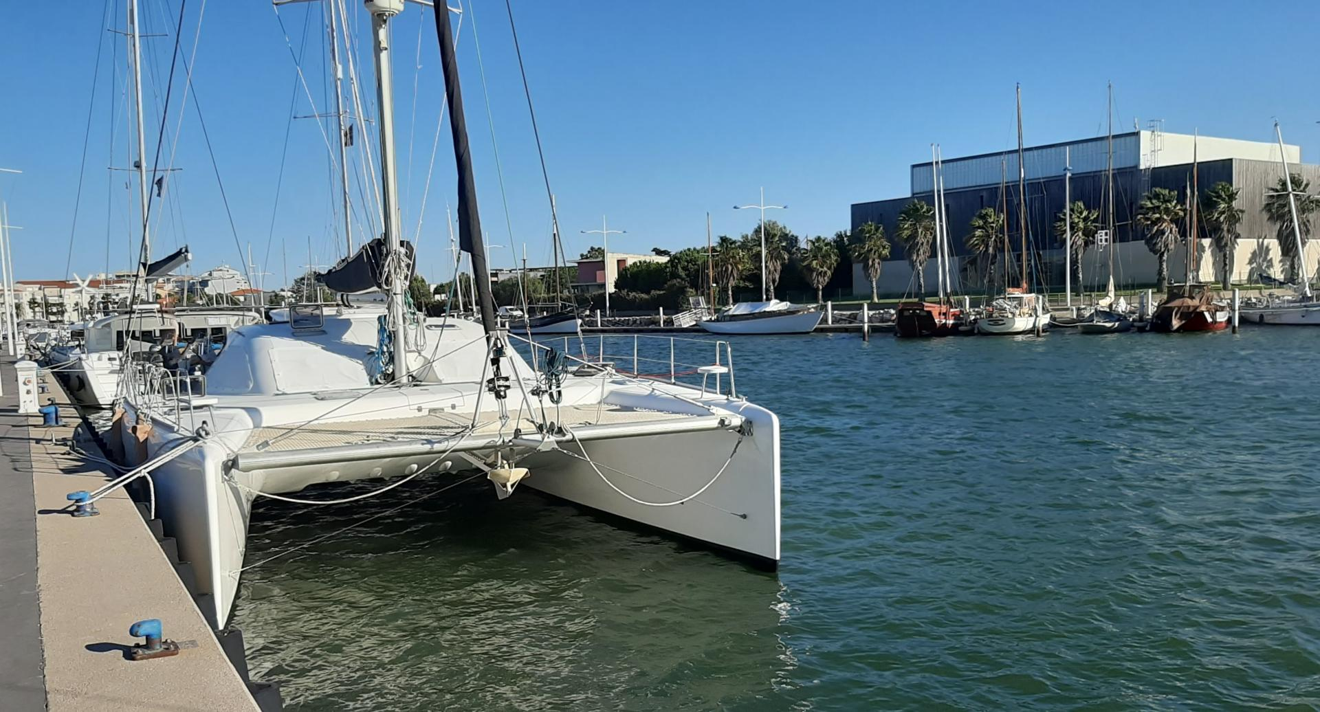 Nautitech 47 ready for delivery in canet