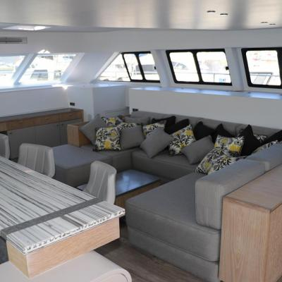 Open Ocean 800 Luxury Expedition Catamaran II  Cake