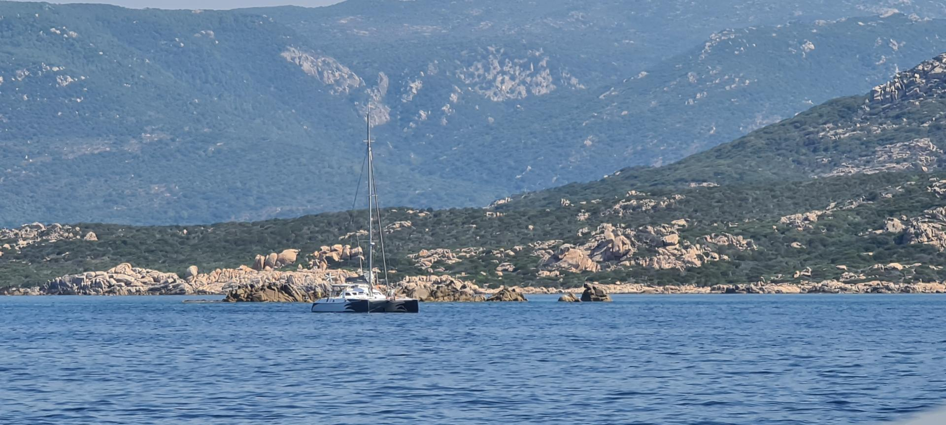 Outremer 45 nomade in corsica
