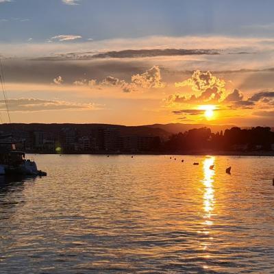 Coucher de soleil à Palamos