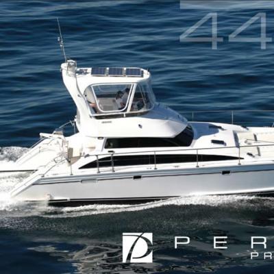 Perry 44 5 luxury motor yacht