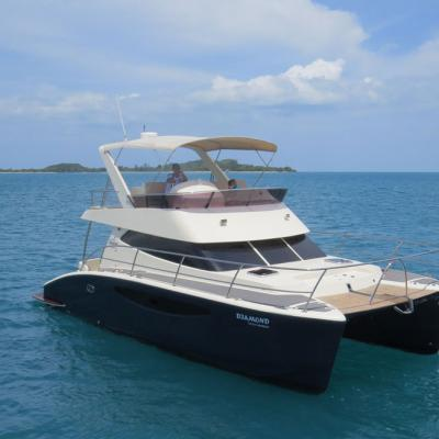 Power Cruiser Catamaran AB32