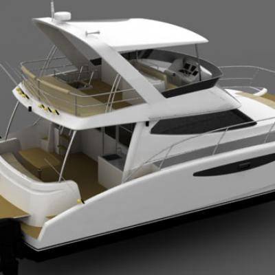 Power Cruiser Catamaran AB32 Charter