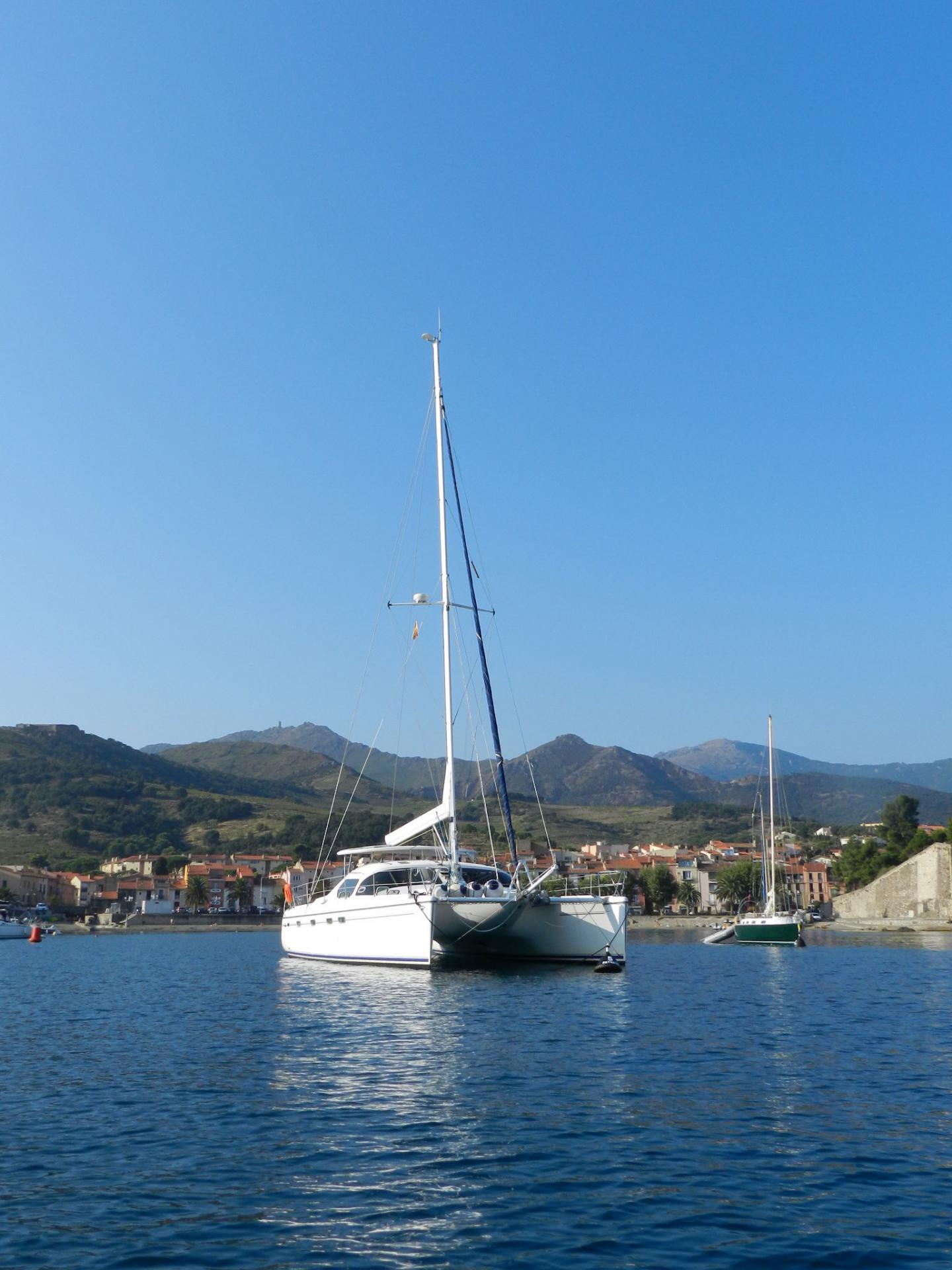 Privilege 435 in collioure