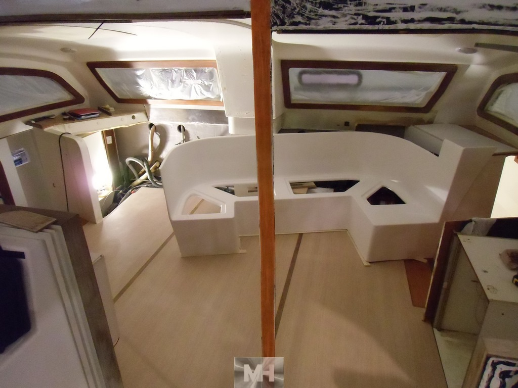 Refit complet catana 42 41