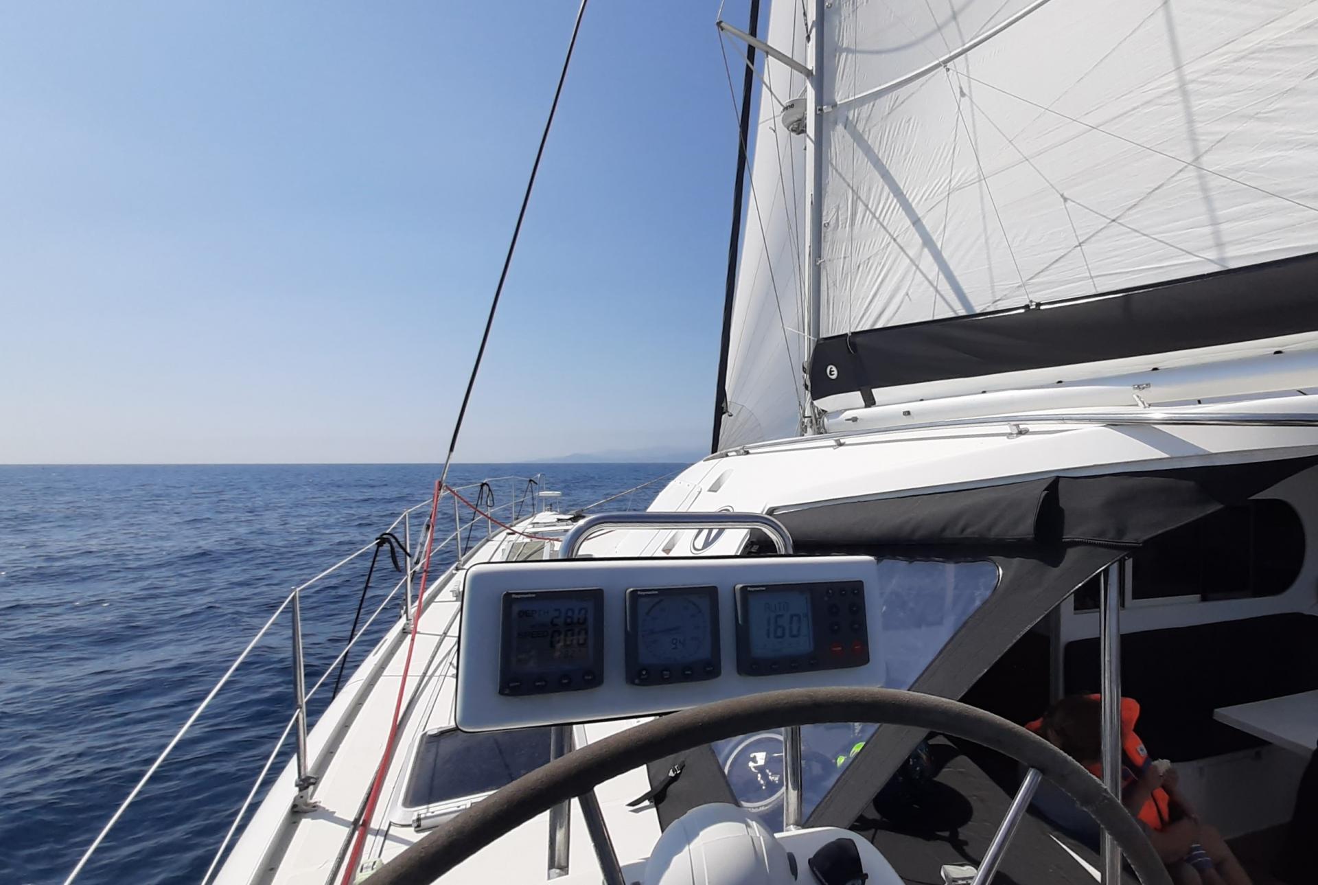 Sea trial hiva oa