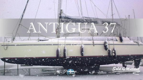 Sold by multihull antigua 37 1991 4 cabins