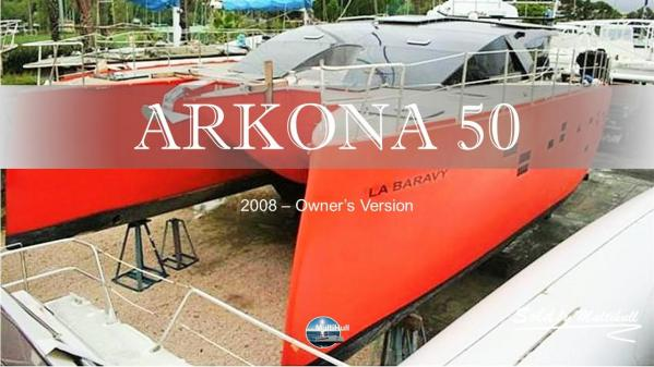 Sold by multihull arkona 50