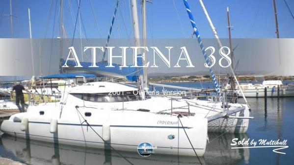 Sold by multihull athena 38 2001 owner s version