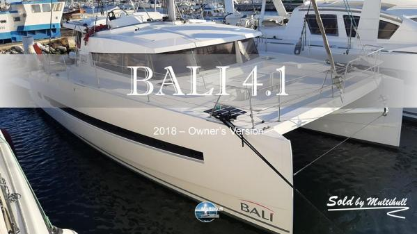 Sold by multihull bali 4 1 2018 owner s version