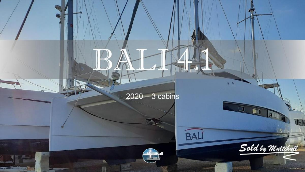 Sold by multihull bali 4 1 2020 3 cabines