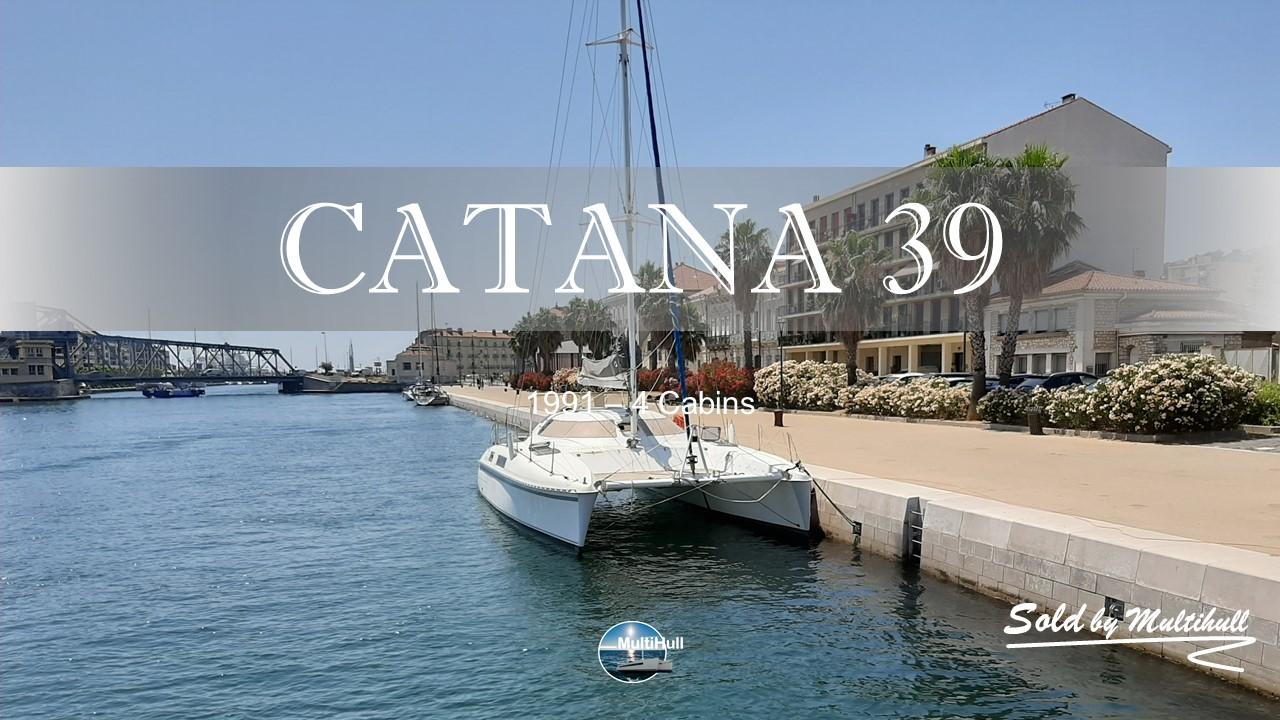 Sold by multihull catana 39 1991 4 cabins