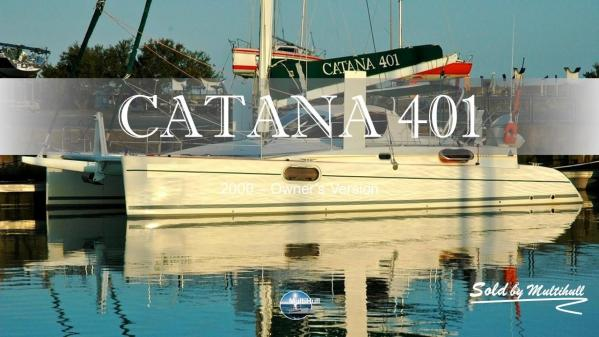 Sold by multihull catana 401 2000 owner s version
